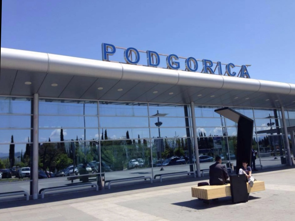 Taxi from Podgorica airport